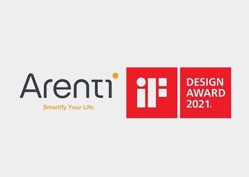 Arenti won the iF DESIGN AWARD 2021